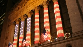 Wall Street stock exchange (by zonnabar, flickr)