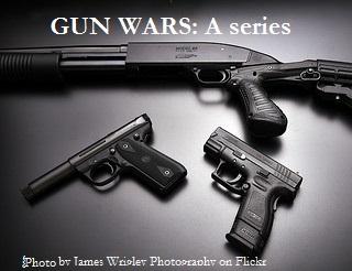 Gun Wars a series logo
