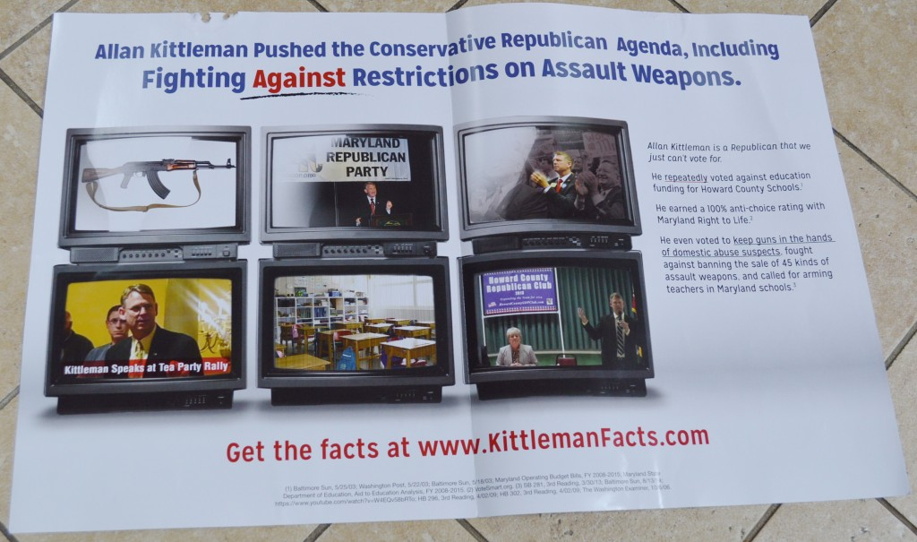 Assault weapons mailer