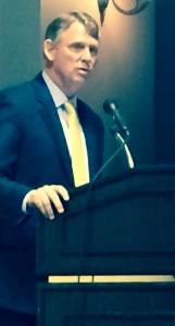 Kittleman at podium