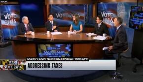 Hogan Brown debate panel