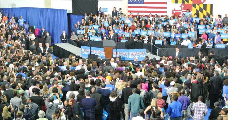 President Obama rallies support for Brown in Prince George's