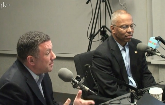 Lt. gov. candidates Ulman, Rutherford clash in radio debate