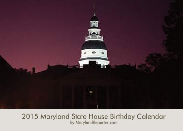 2015 State House Birthday Calendar includes all 58 new delegates, 11 new senators