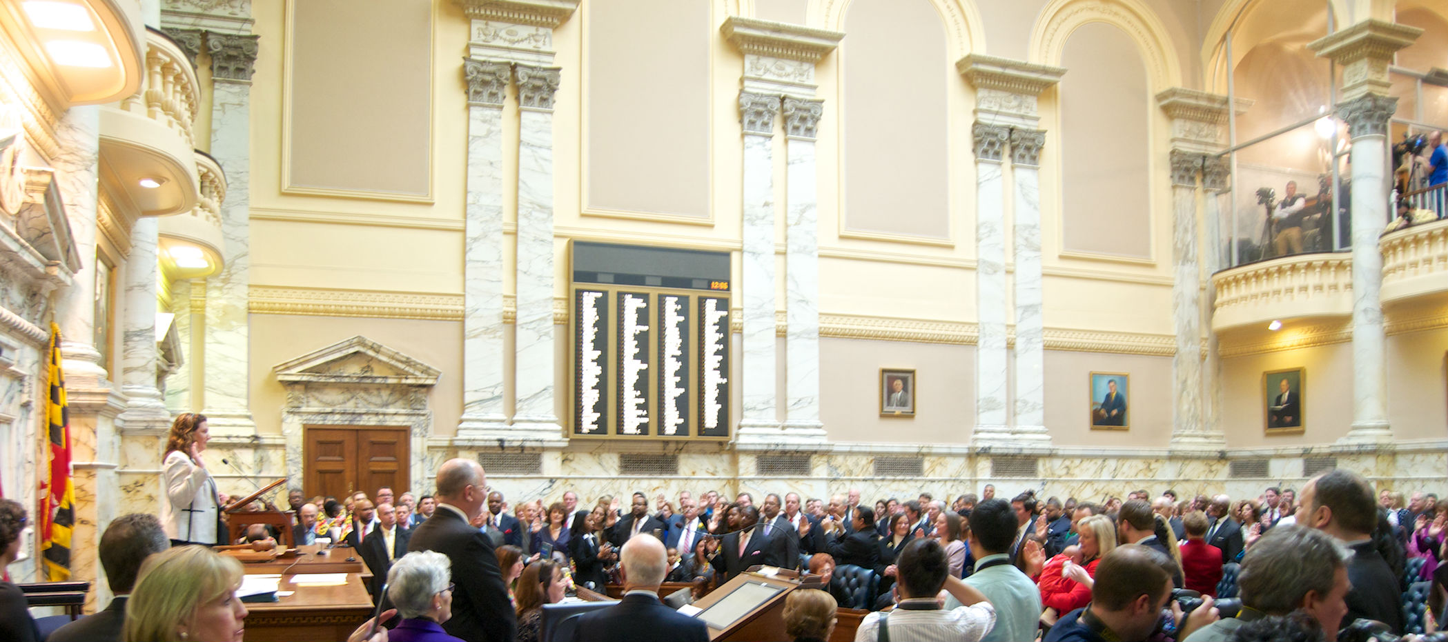 Wave of freshman legislators finds State House not as partisan as expected