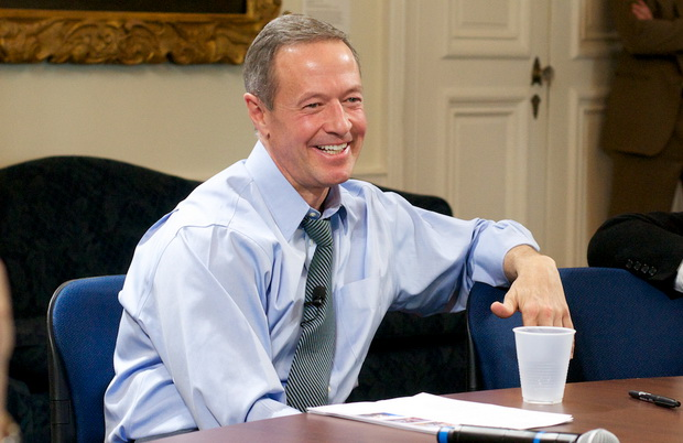 O'Malley now supports non-partisan commissions to draw congressional districts he admits gerrymandering