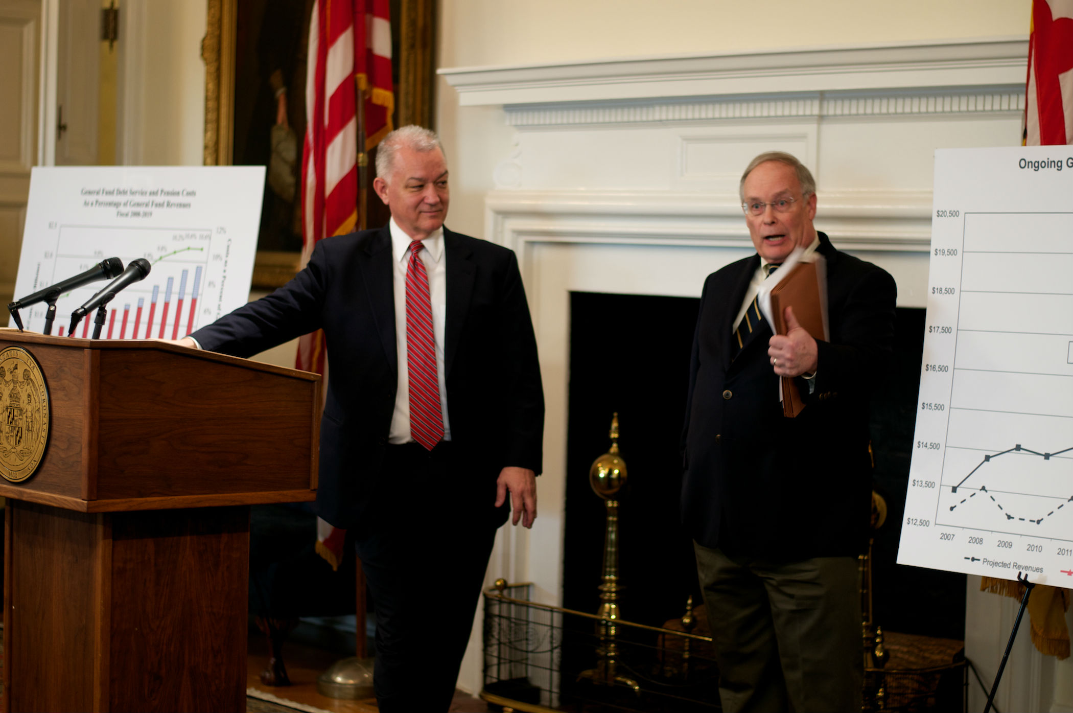 Rascovar: Hogan's placeholder budget