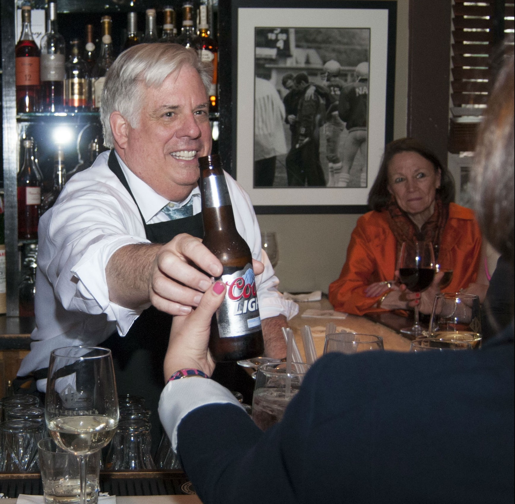 Supporting news coverage at State House: We'll drink to that