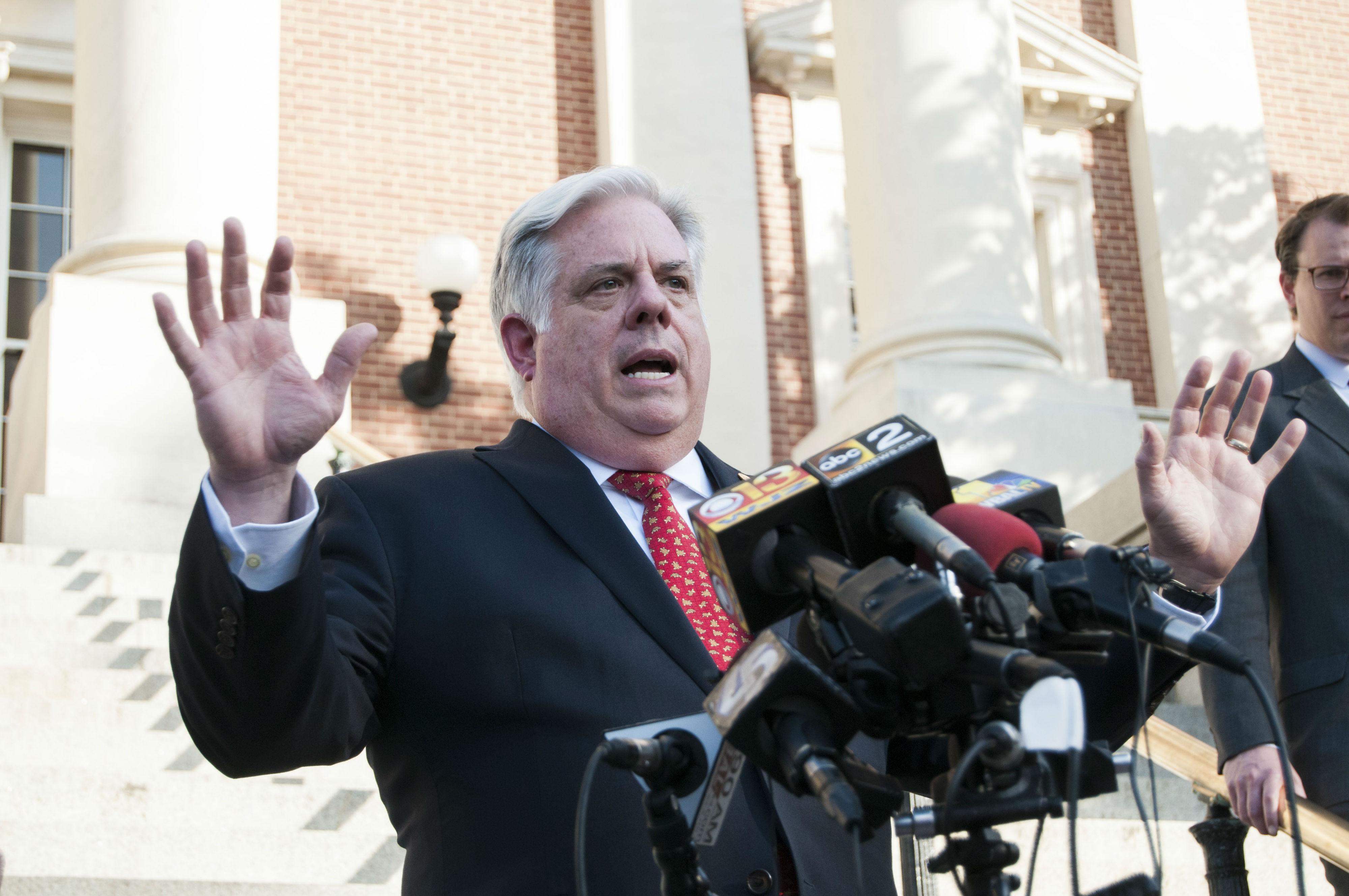 Hogan and legislators veered close, but wound up far apart
