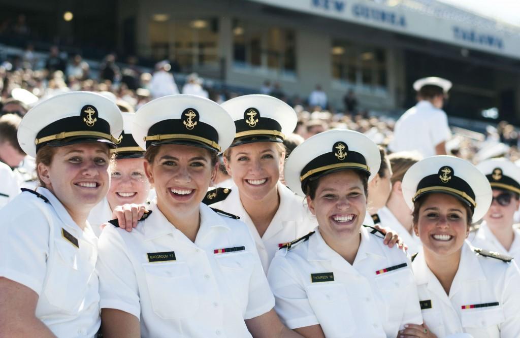 Naval academy women