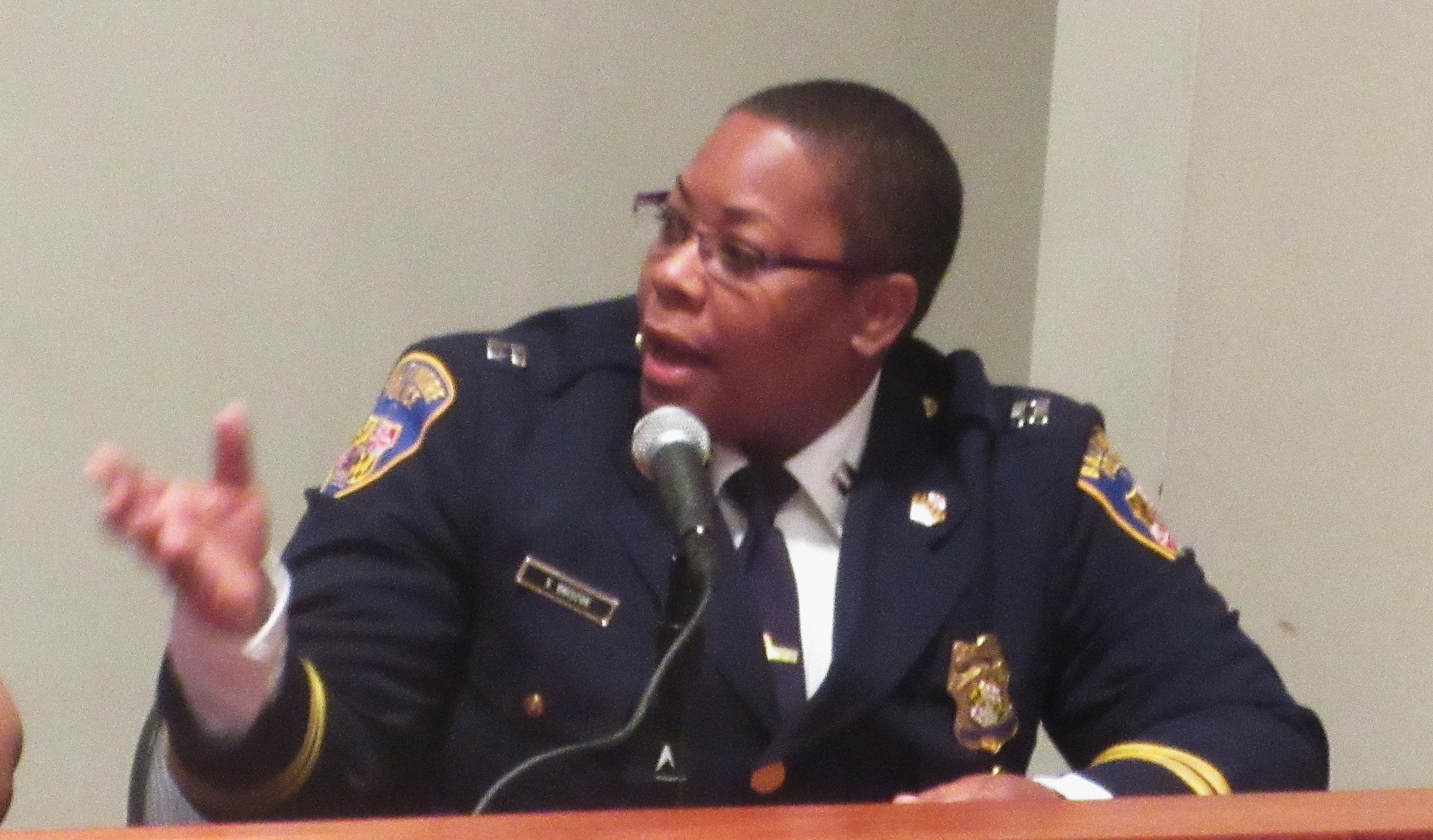 In Freddie Gray's 'hood, new police commander is a tough mother