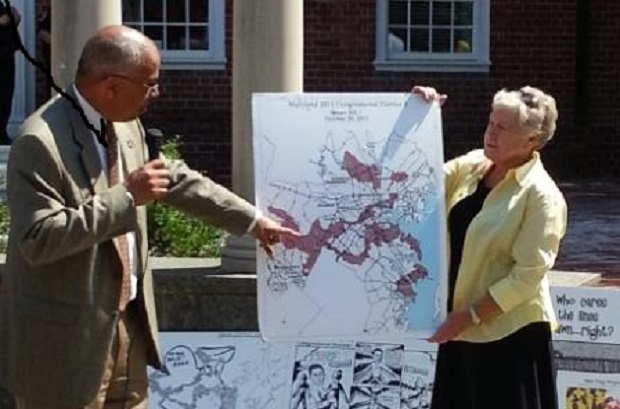 Cake, ice cream and a Rutherford promise of a commission to reform redistricting