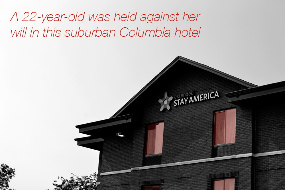 Trafficking stay america hotel