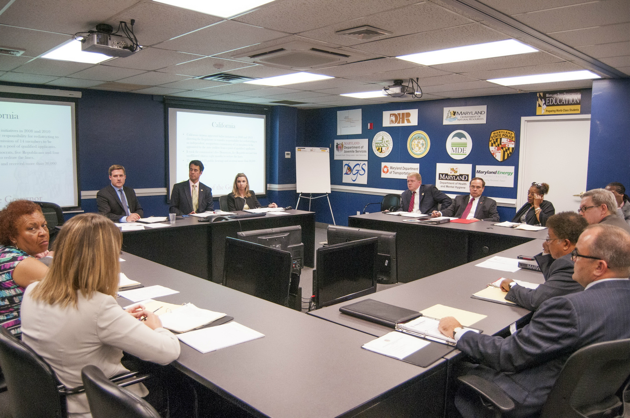 Redistricting Reform Commission holds first meeting with just 10 weeks to act