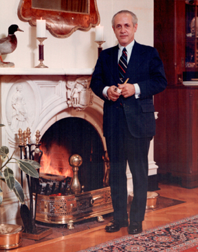 Mandel in Governor's Office