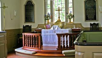 Old Wye Parish altar