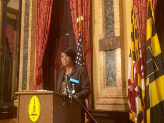 Mayor Stephanie Rawlings-Blake from her Facebook page.