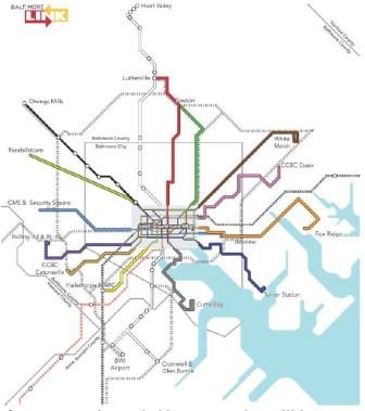 Baltimore Link Chart