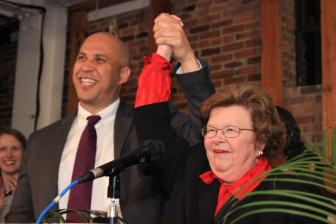 Sens. Cory Booker and Barbara Mikulski. Photo copyright by Kevin Gillogly, mocokevin on Flickr
