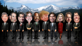 CNBC debate by Donkey Hotey on Flickr Creative Commons License