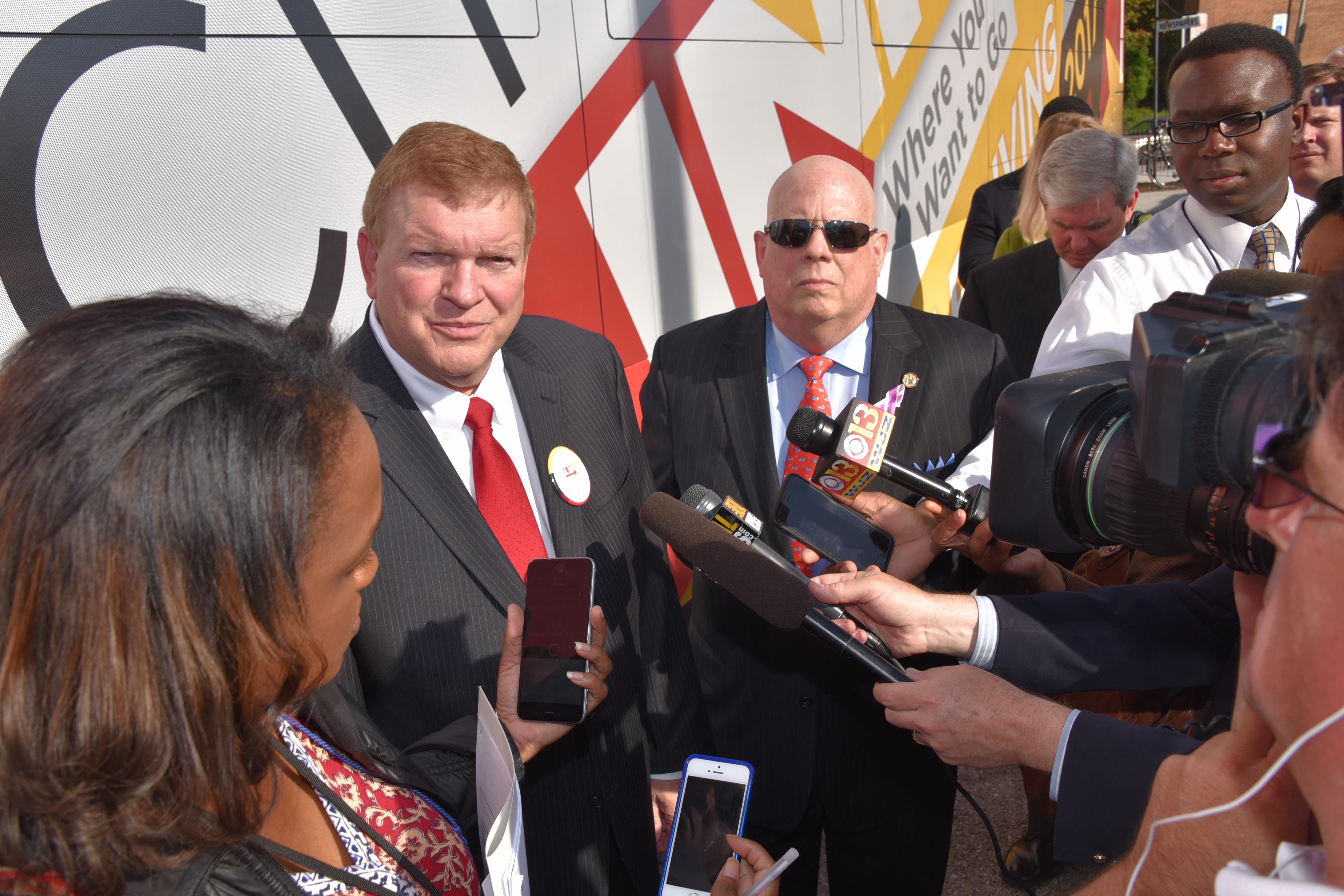 Rascovar on Hogan's hopes for bus transit