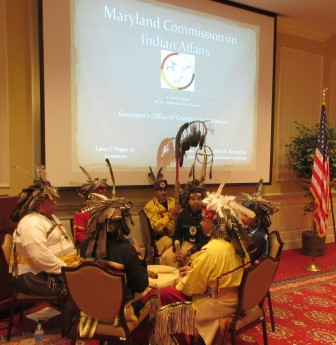 There was a kick-off event for Maryland's American Indian Heritage Month in Annapolis Monday, hosted by the Maryland Commission on Indian Affairs.
