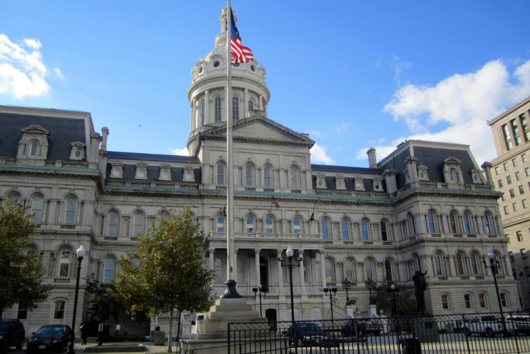 Baltimore City Hall by wallyg with Flickr Creative Commons License