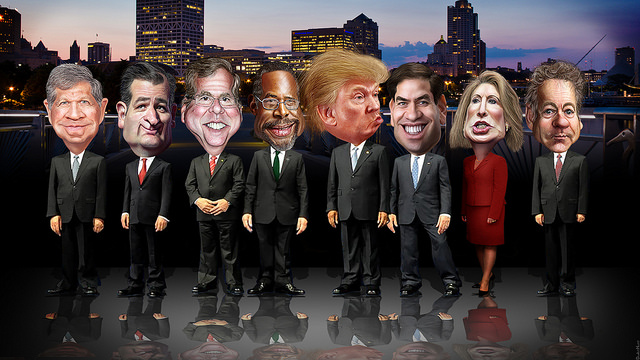 Real GOP debate: Focus on issues unimpeded by moderator excess