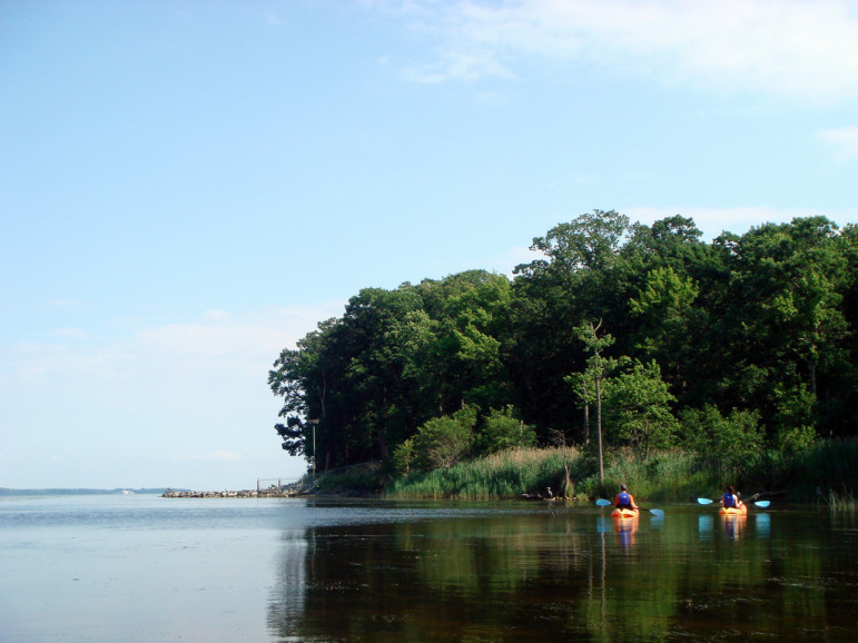 Kayaking on the Chesapeake. Photo by mzarro with Flickr Creative Commons License.