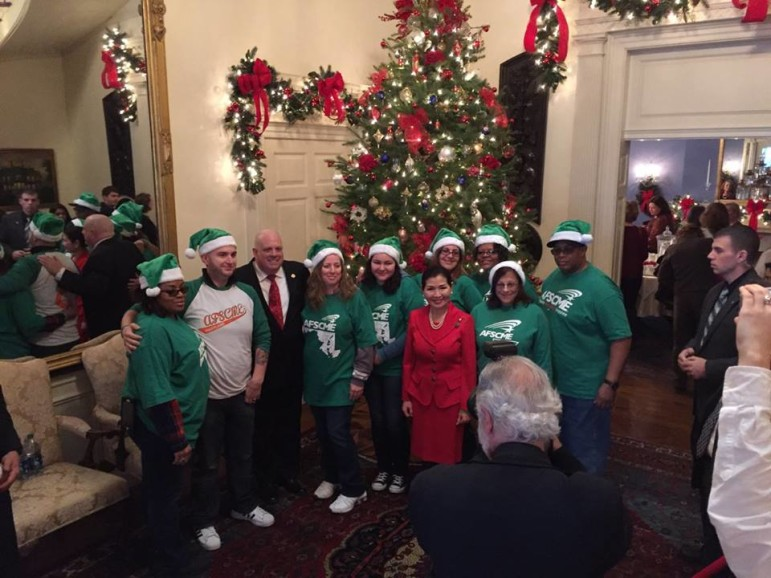 Hogan AFSCME Holiday Party