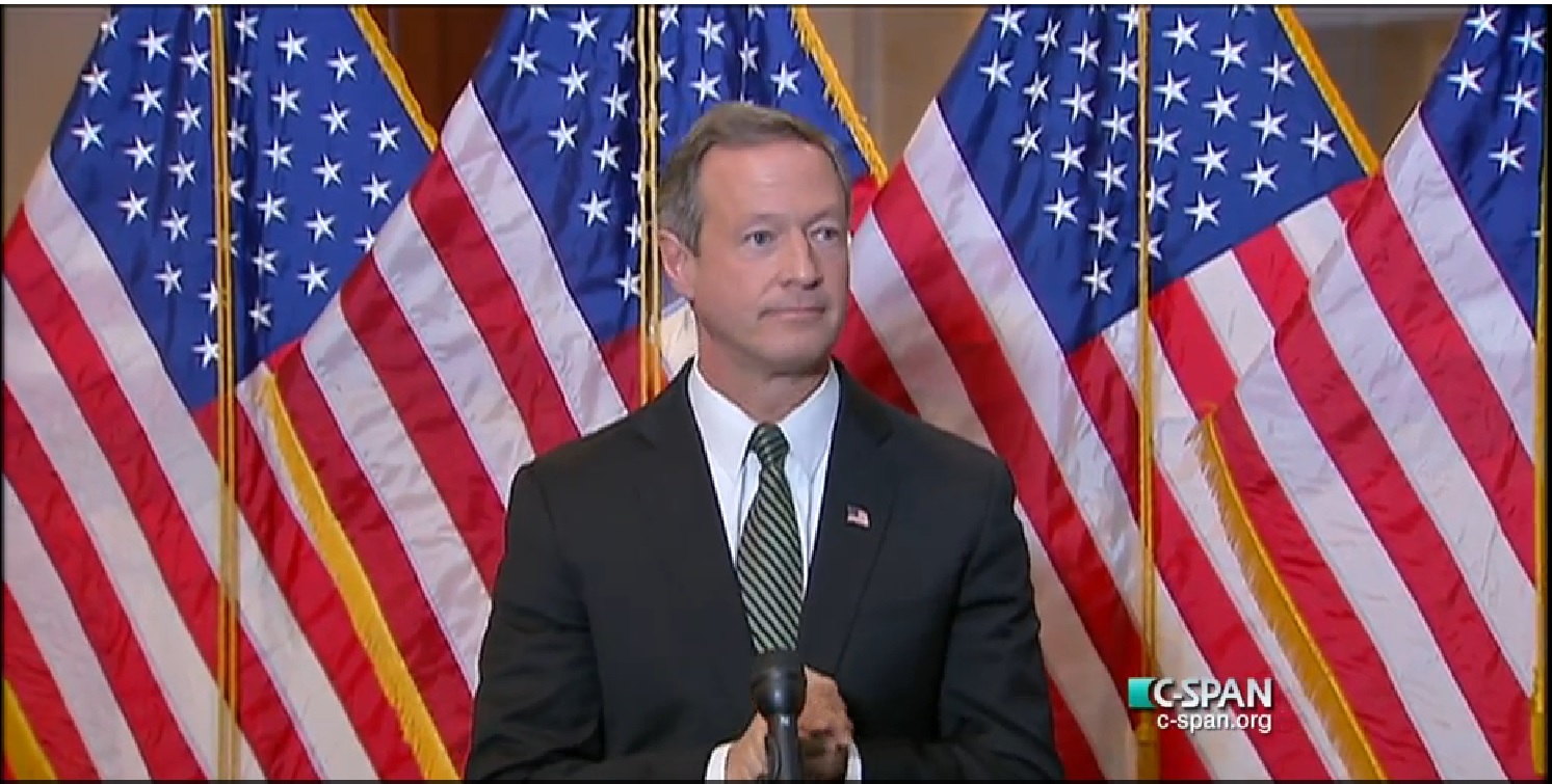 O'Malley courts U.S. House Democrats