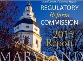Regulatory reform commission report 2015