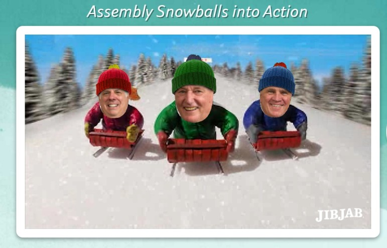 Assembly snowballs into action