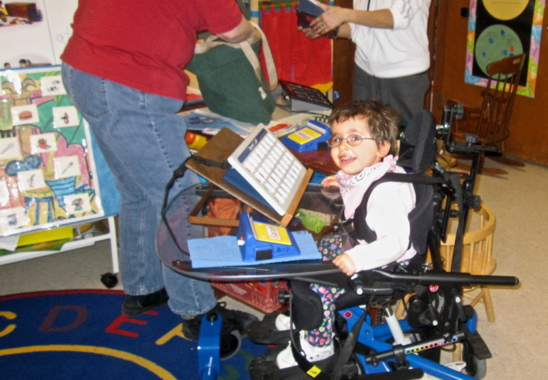 Child with disabilities. By EasyStand with Flickr Creative Commons License
