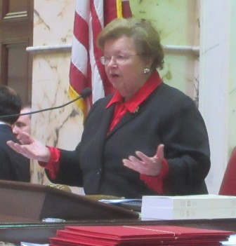 U.S. Sen. Barbara Mikulski addresses Senate.