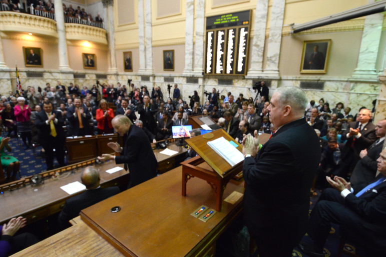 Gov. Larry Hogan gives his State of the State address Feb. 3.