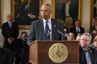 Lt. Gov. Boyd Rutherford will head new commission on procurement, while the legislature already has proposed reform.