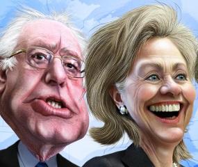 Hillary beats Bernie in Md., 58-28%; Edwards, Van Hollen in dead heat
