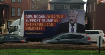 Delaney Trump billboard-2