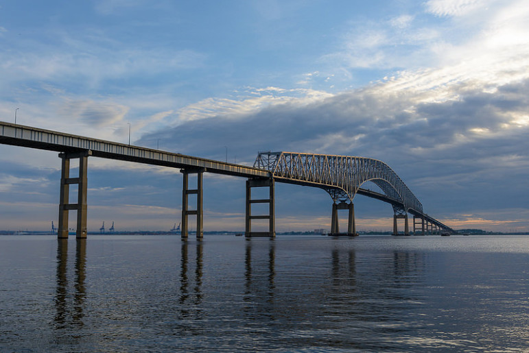 Francis Scott Key bridge by Patrick Gillespie with Flickr Creative Commons License