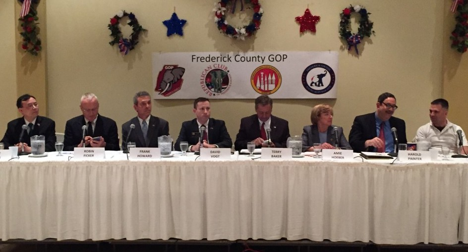 6th District Republicans debate taxes, foreign policy in bid to challenge Delaney