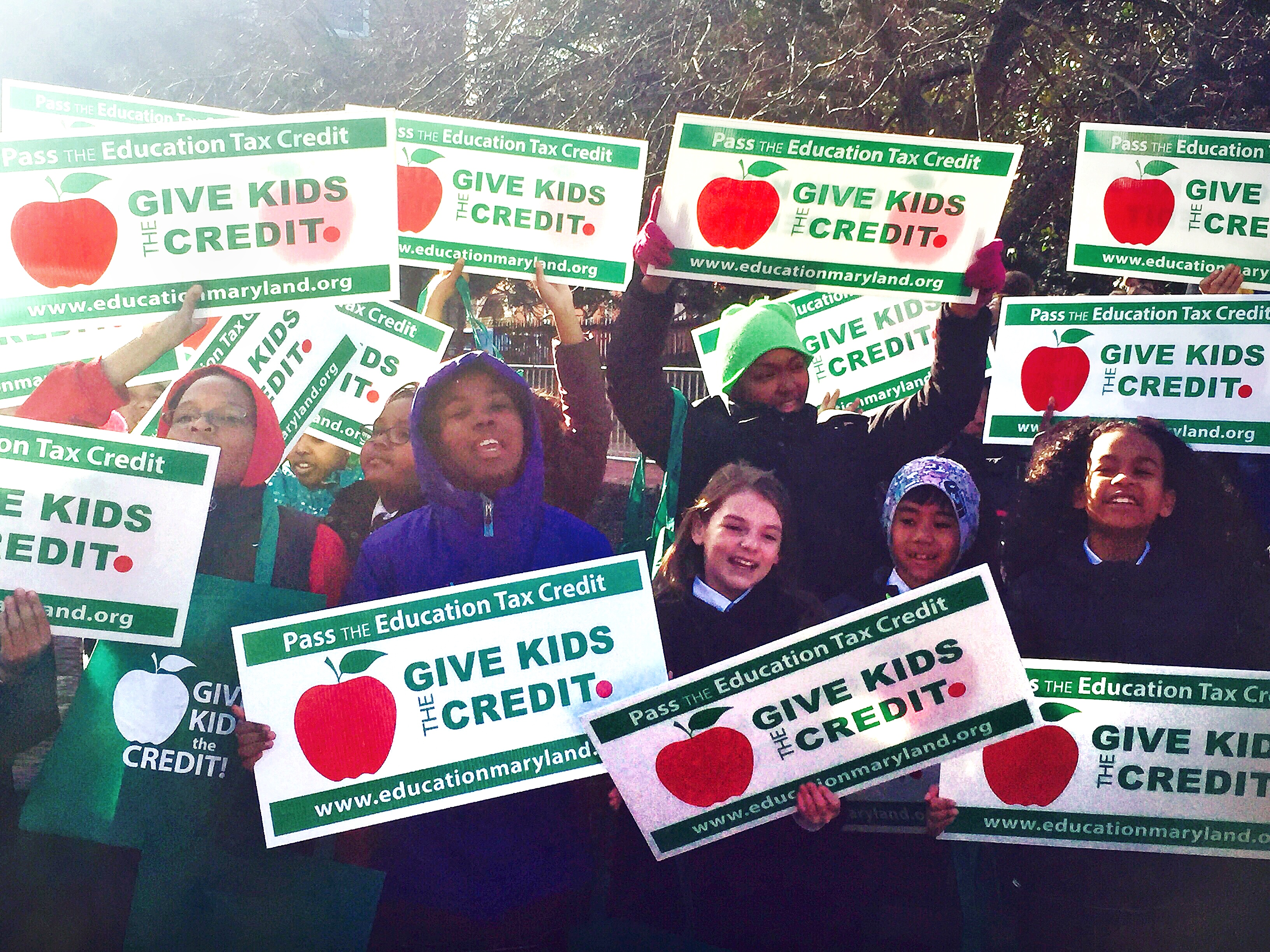 Supporters say Maryland Education Credit would provide more opportunities