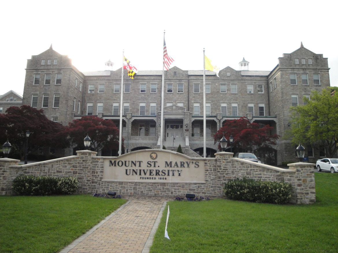 Mount St Mary >> Rascovar At Mt St Mary S Newman Was Wolf In The Hen