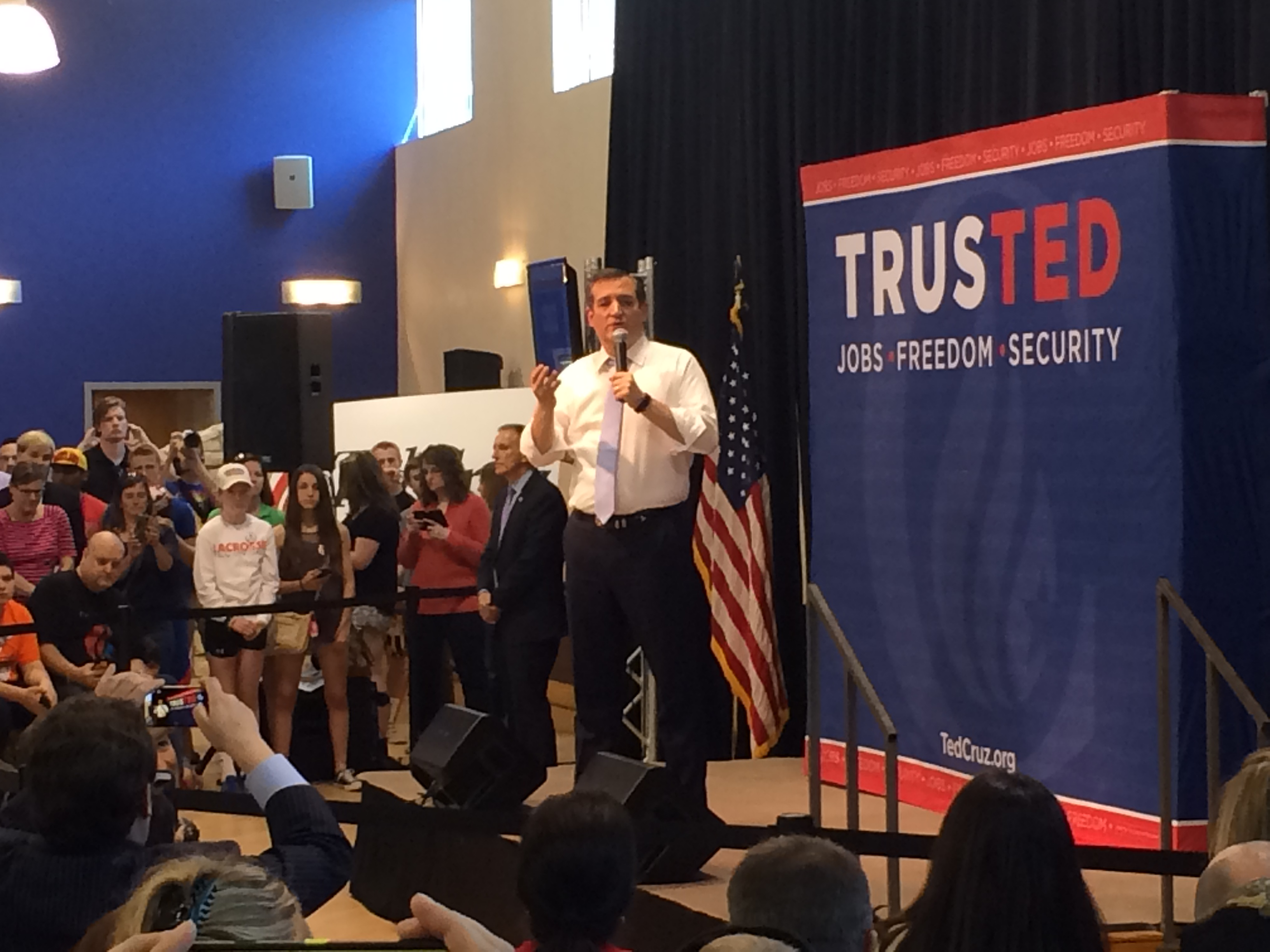 Maryland will have 'outsized voice' in GOP nomination, says Cruz