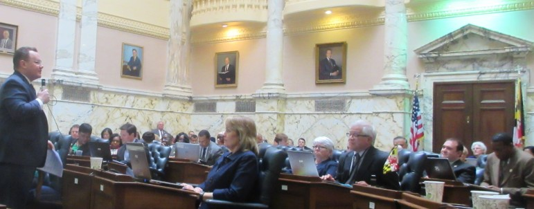 Kipke addresses House on transportion
