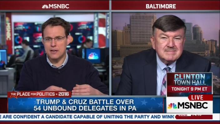 Len Lazarick on MSNBC
