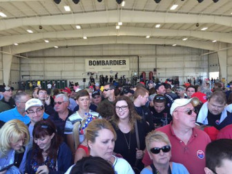Crowd shot at Hagerstown rally. From Maryland for Trump's Facebook page.