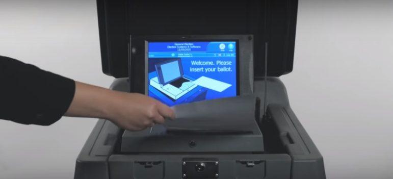 Insert your ballot