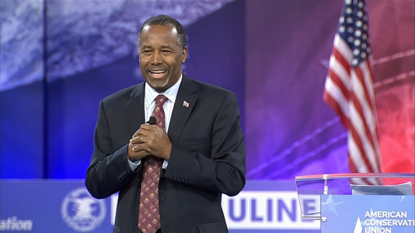 Ben Carson compares Hillary to Lucifer in GOP convention speech