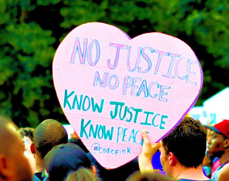 No justice no peace know justice know peace